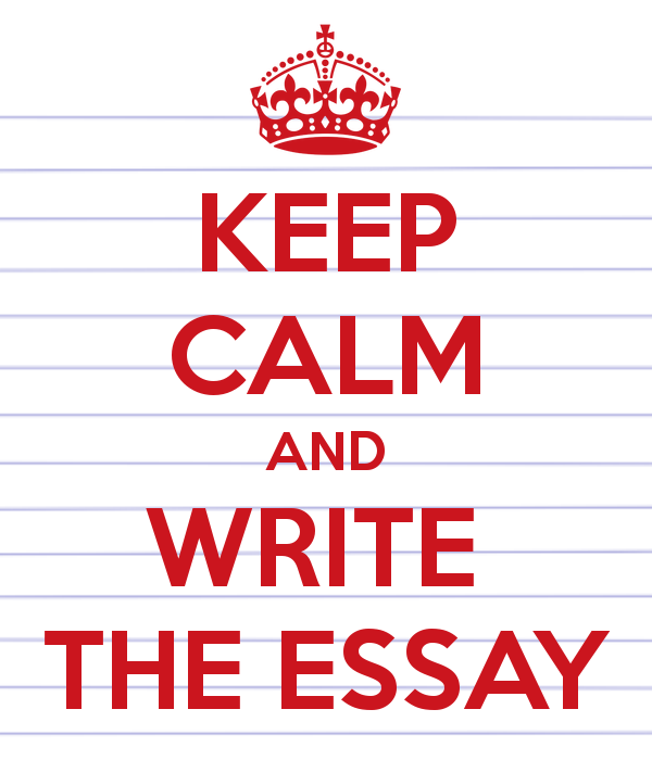 Image result for keep calm and write the essay